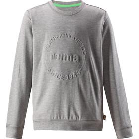 Reima Ljung Pull Garçon, melange grey